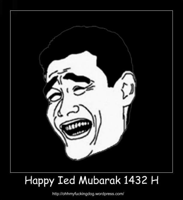 Happy Ied Mubarak 1432H